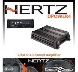 Hertz DPower4 4 Channel...