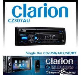 Clarion CZ307AU Single Din...