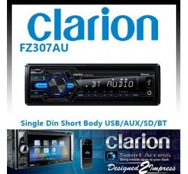 Clarion FZ307AU Single Din...