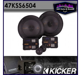 "Kicker 47KSS6504 6.5"" 125..."