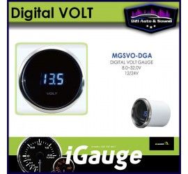Digital Volt Gauge 52mm...