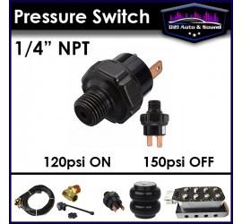 """Pressure Switch 1/4"""" NPT ~..."""