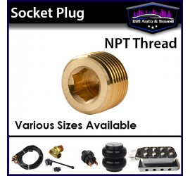 Socket Plug NPT Thread -...