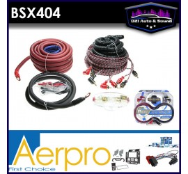 BSX404 Bassix 4ga 4-channel...