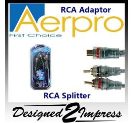 RCA Adaptor Splitter 1F-2M...