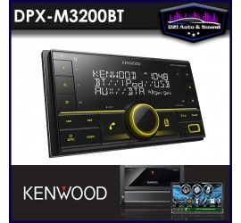 Kenwood DPX-M3200BT Double...