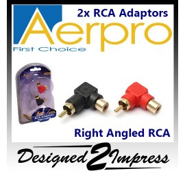 AP618RB Right-angled rca...