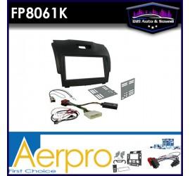 FP8061K Double din black...
