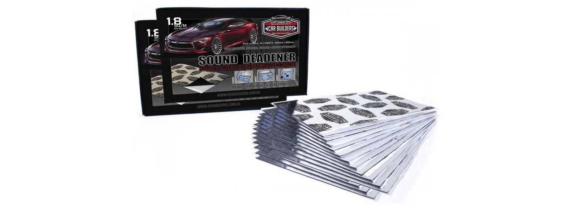 Sound Deadening and Accessories